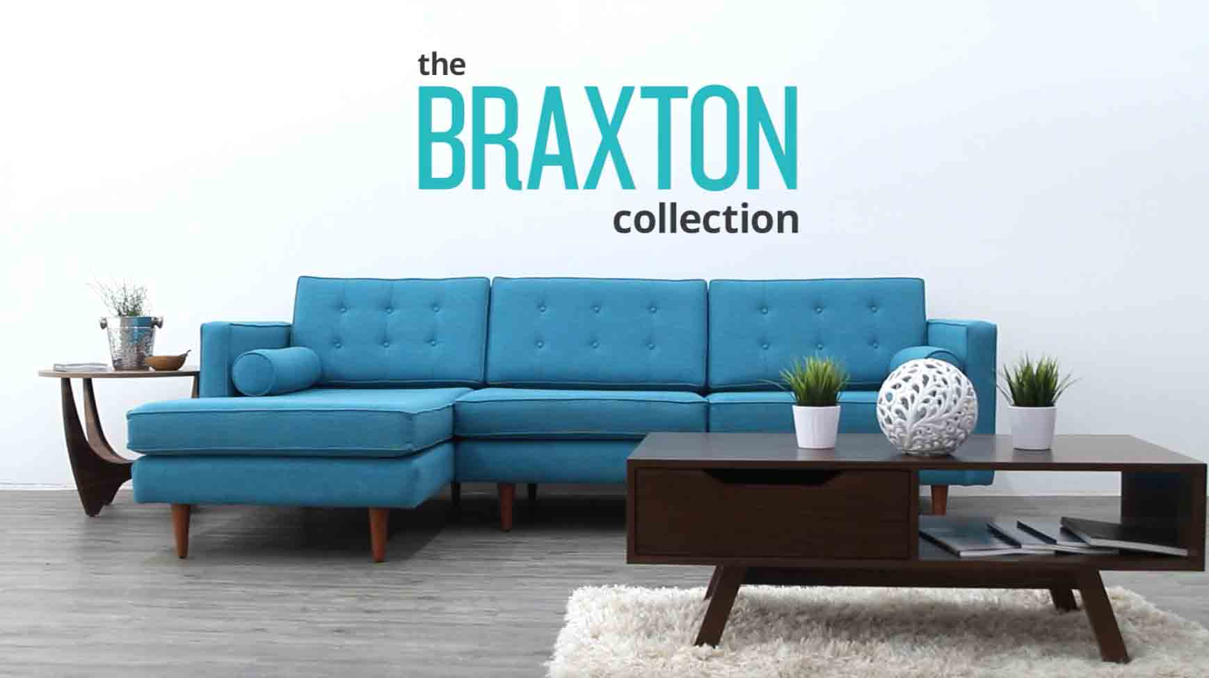 High Quality Braxton Sectional | Joybird
