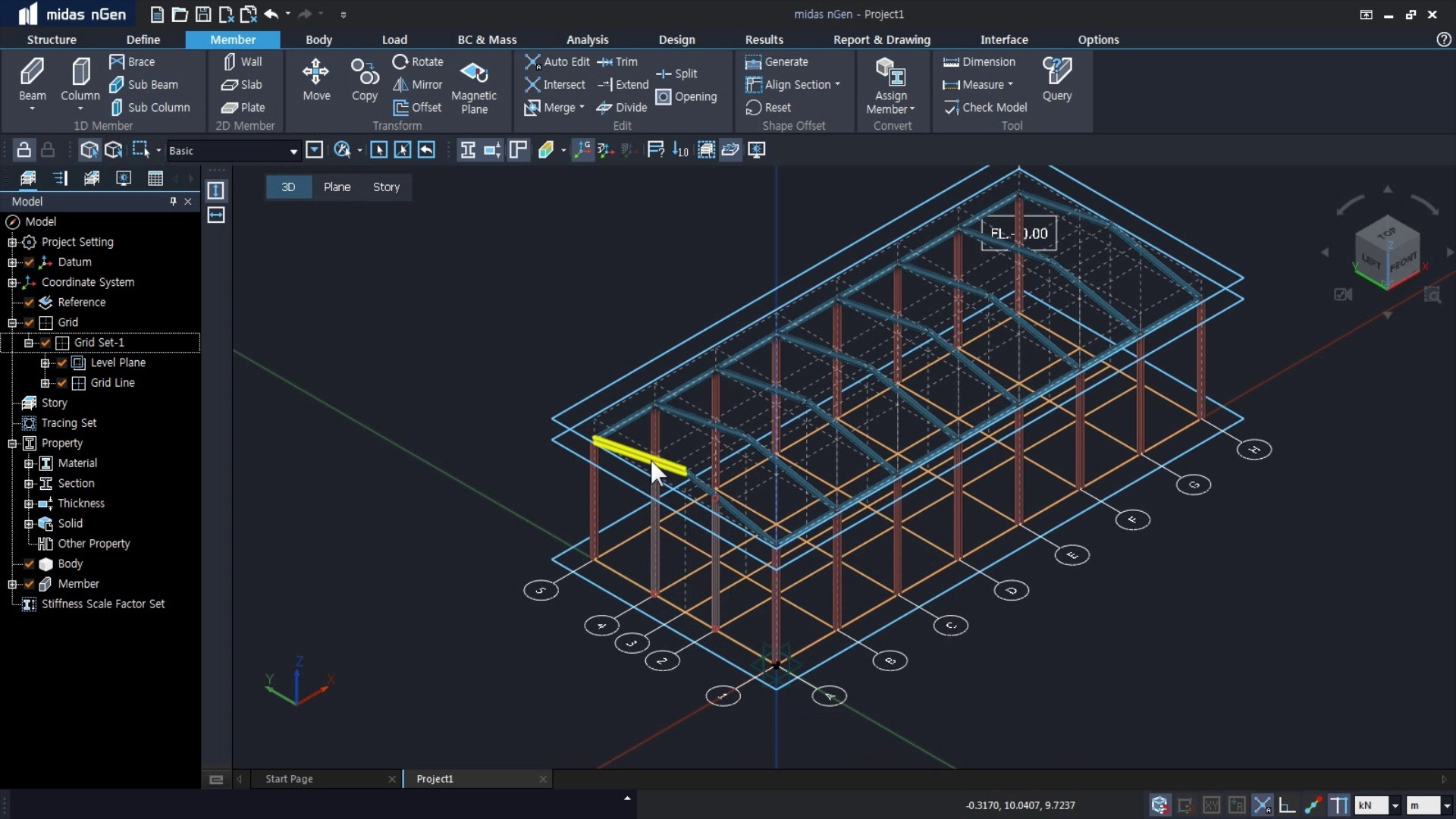 Midas Engineering Software Structural Design Analysis Solution