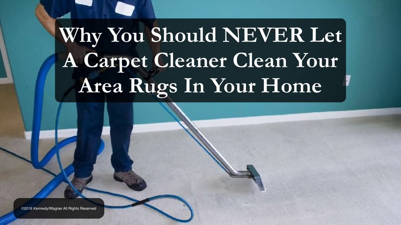 Never Let A Carpet Cleaner Clean Your Area Rugs In Your Home