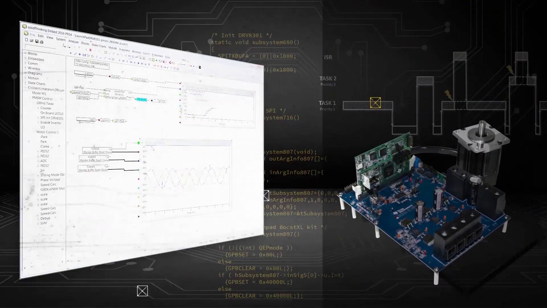 Altair embed visual environment software for embedded systems