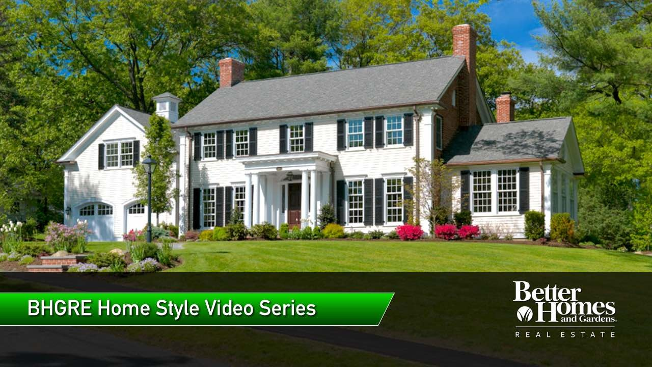 Colonial Style Homes Design Pictures Houses For Sale