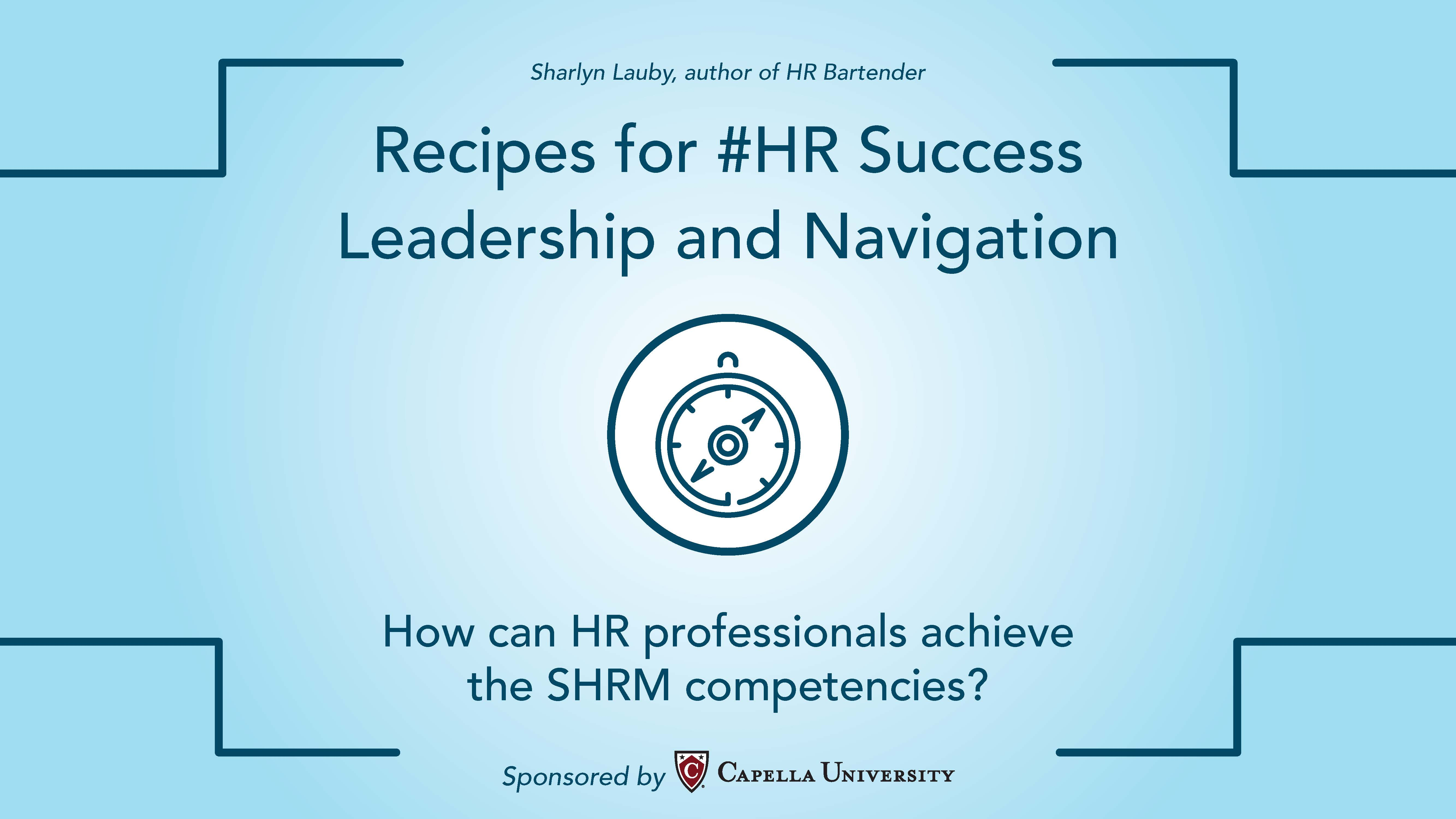 Recipes for hr success leadership and navigation ccuart Choice Image
