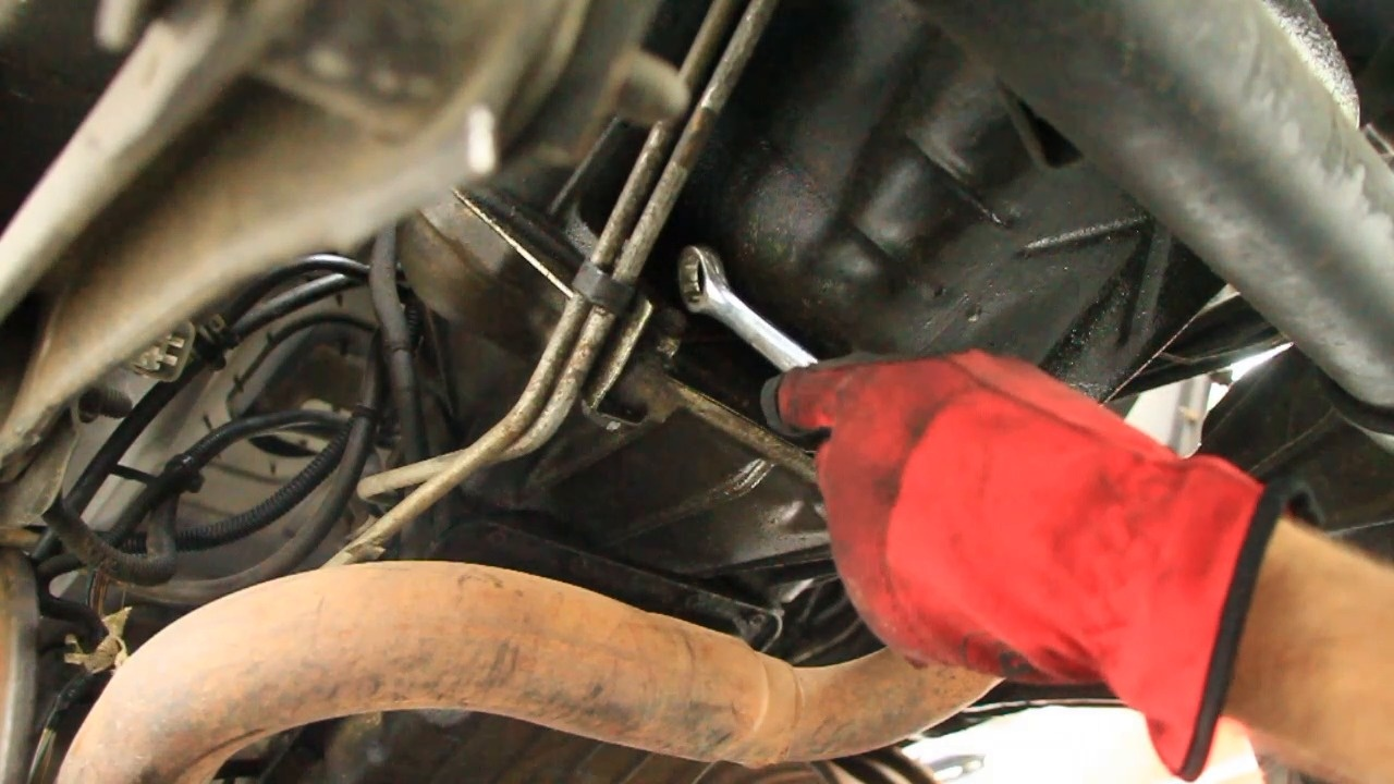 how to remove a 4 0l automatic transmission, jeep series