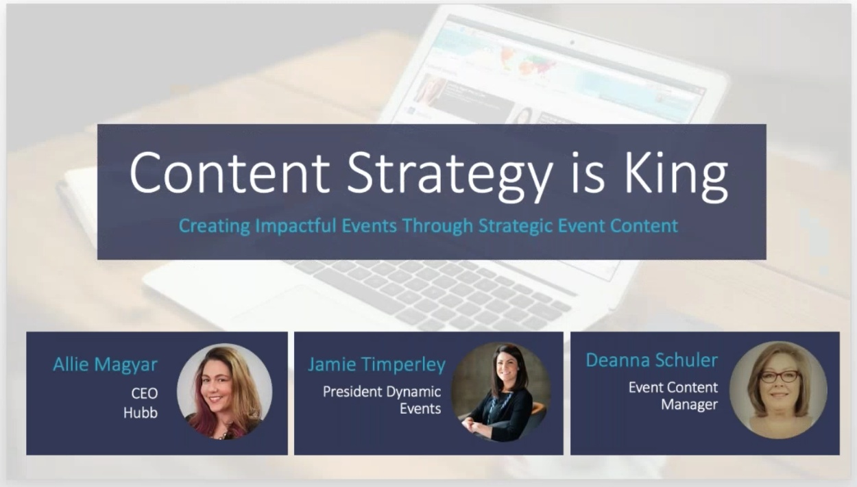 Wistia video thumbnail - Content Strategy Is King Webinar