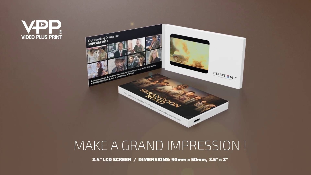 Video business cards from us12 video in a business card video business cards reheart Gallery