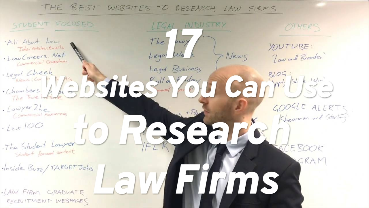 17 Websites You Can Use to Research Law Firms