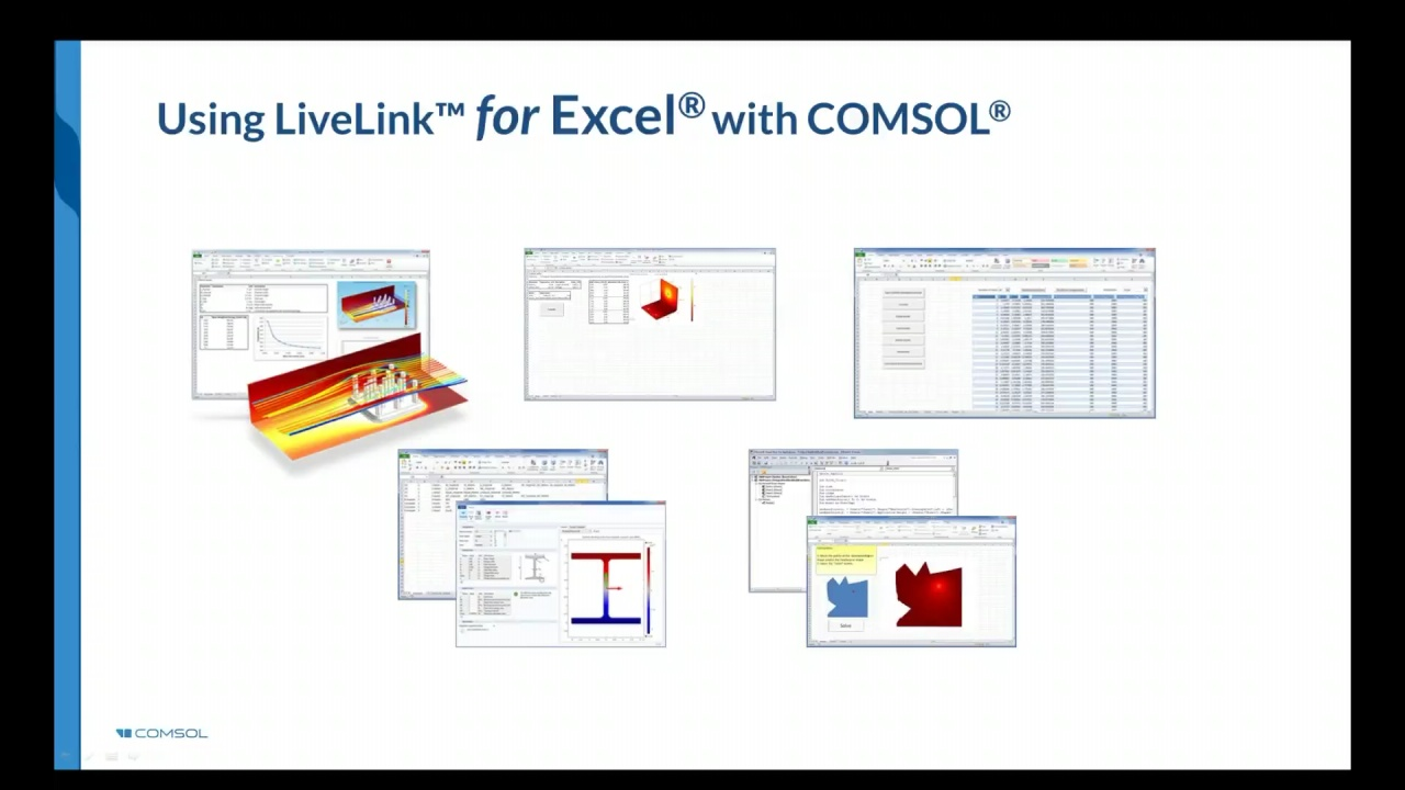 Using Excel® with COMSOL Multiphysics® Simulations