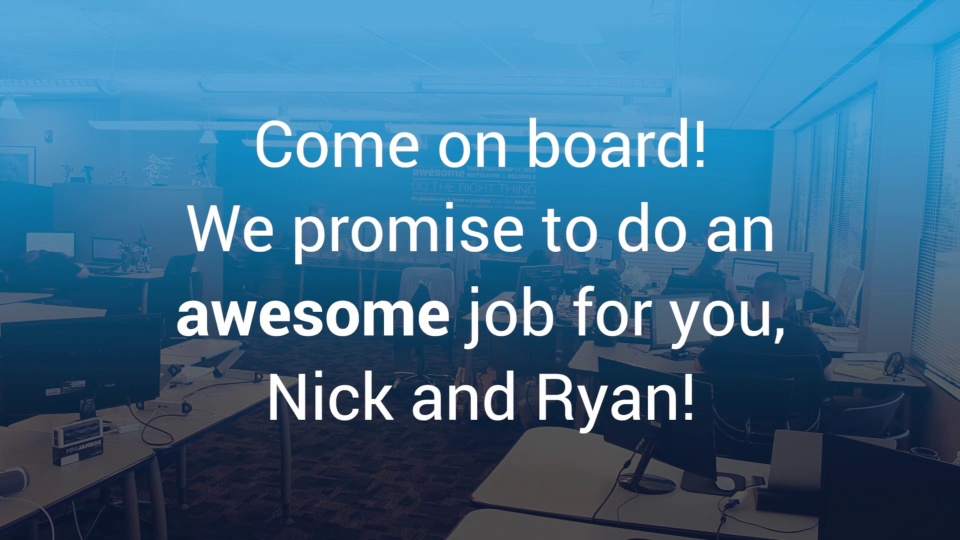 Wistia video thumbnail - Come on board, Scout!