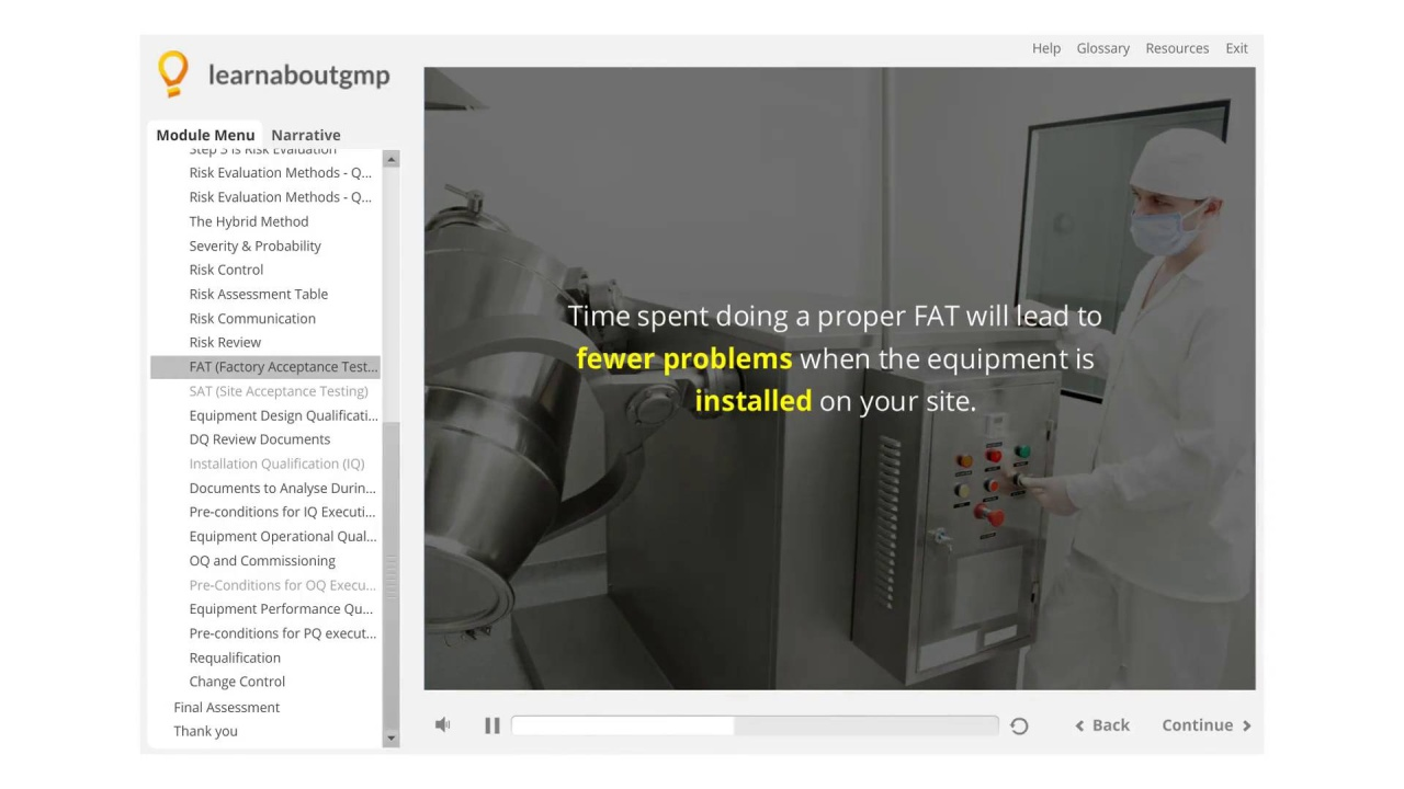Essential Documentation For A Factory Acceptance Test Fat Video
