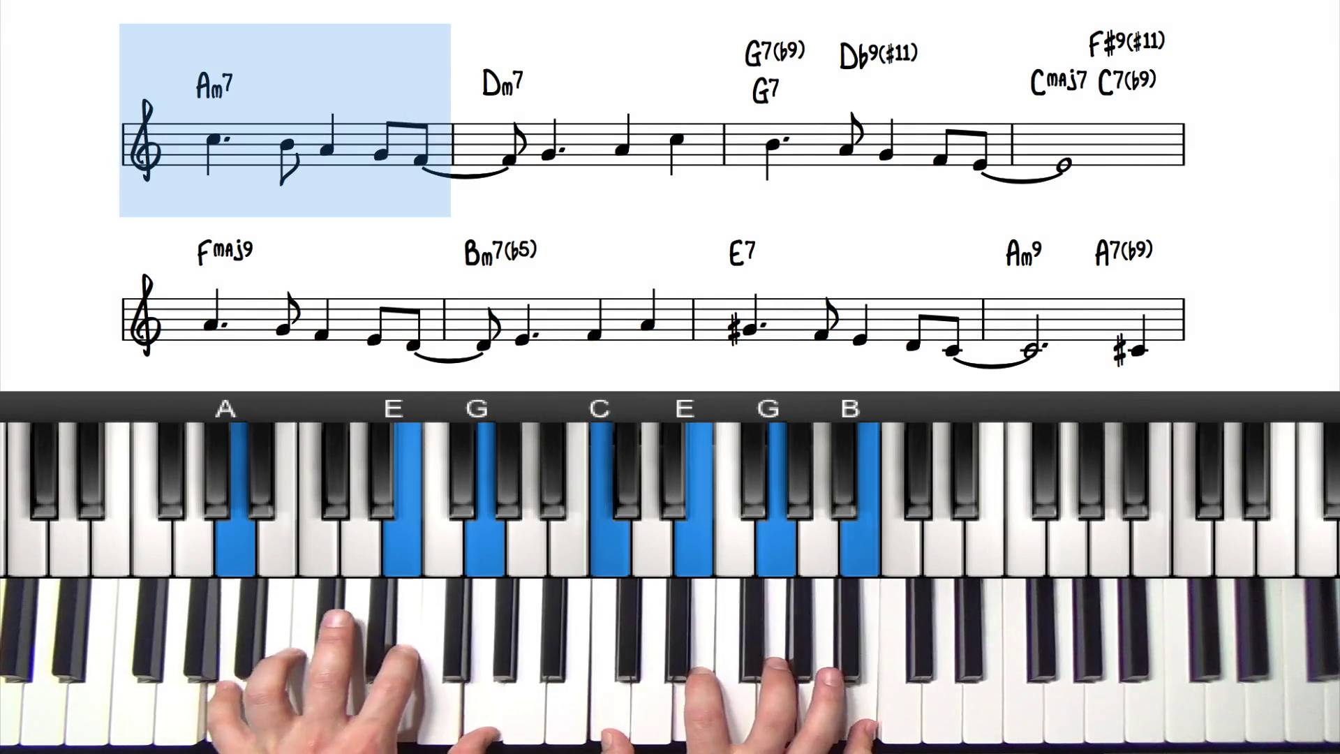 Fly me to the moon tutorial lesson pianogroove hexwebz Choice Image