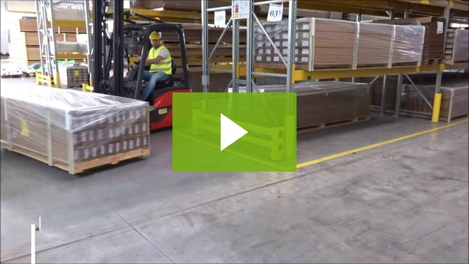 Impactable Barrier Video