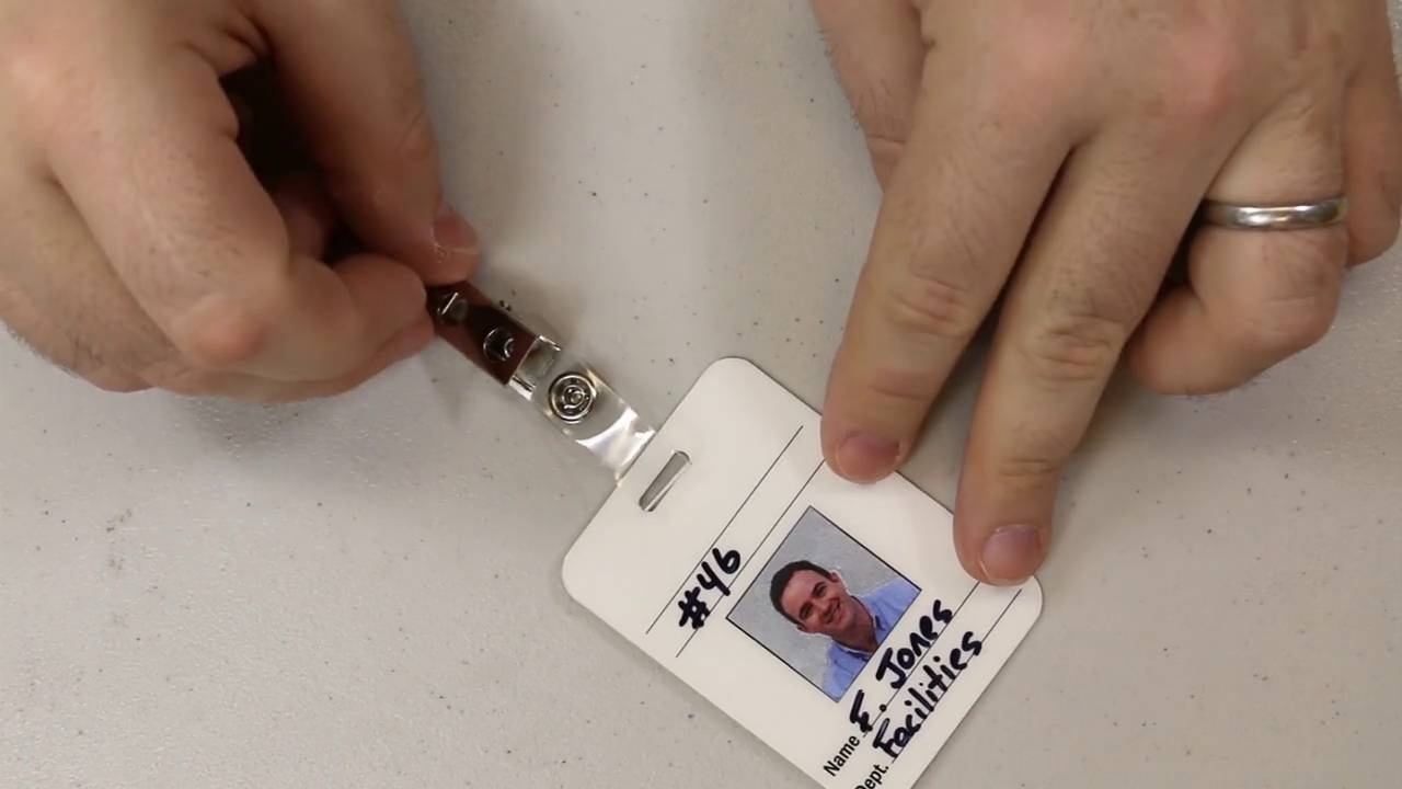 Self-laminating Create Your Own Badge