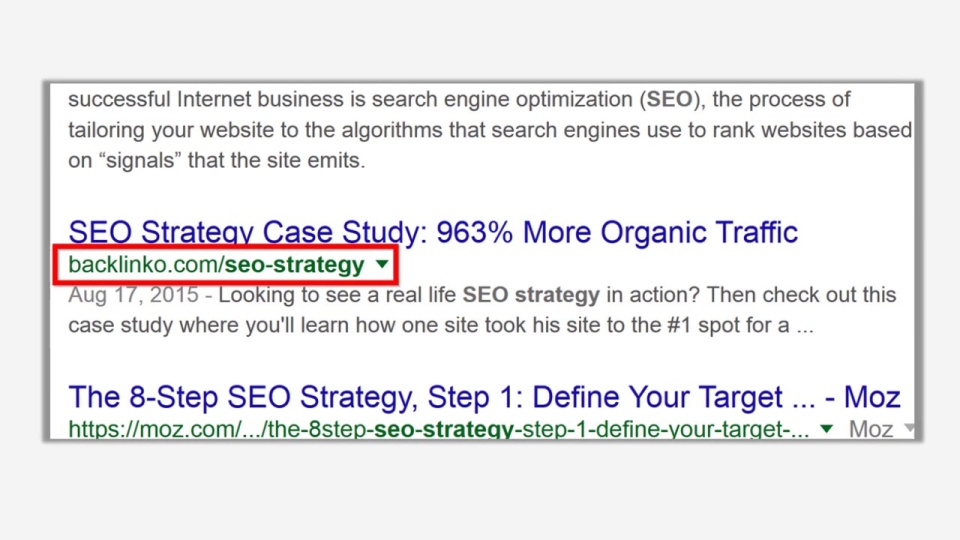 On-Page SEO Brian's Take: Keyword-Rich URls