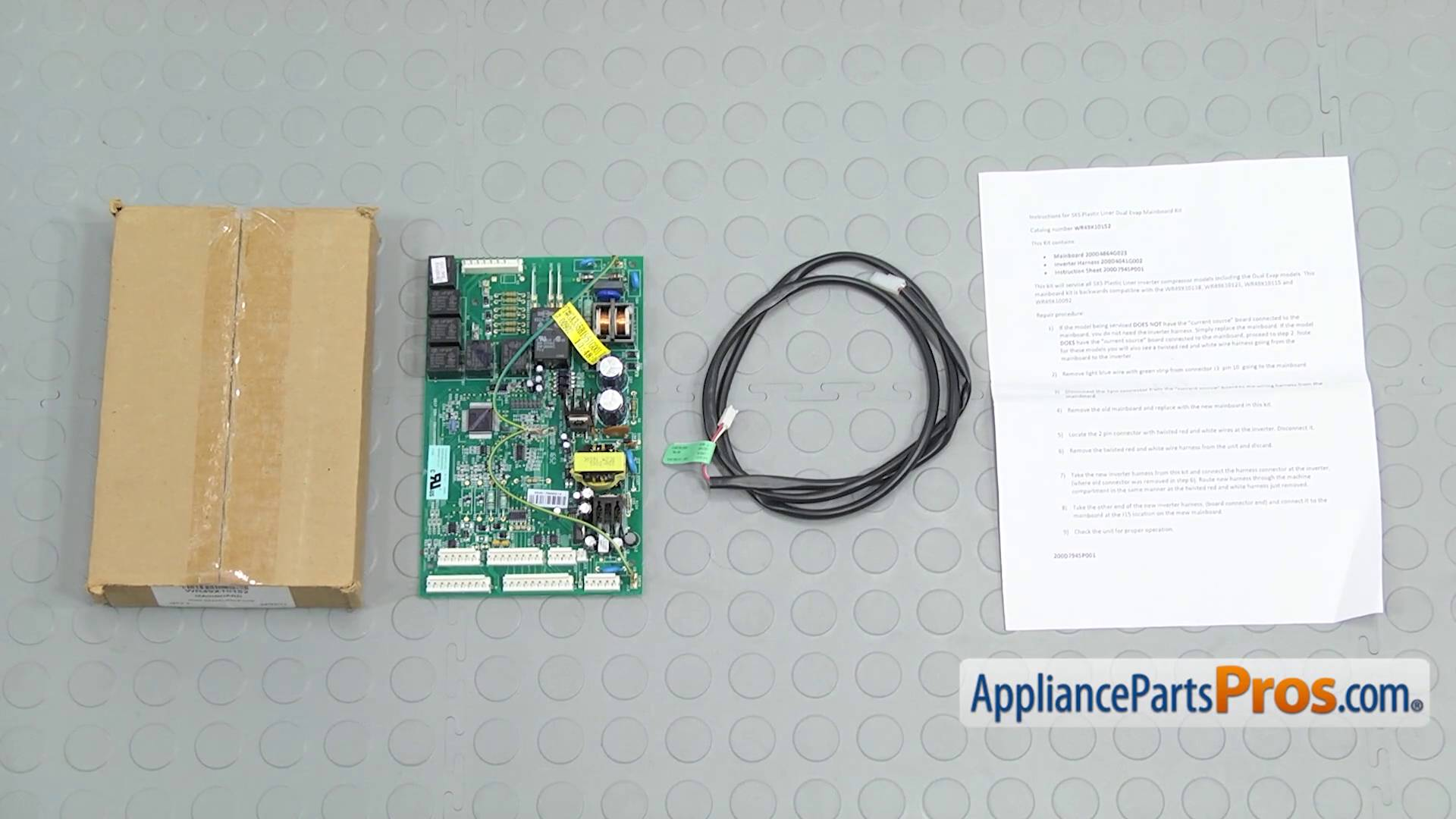 GE WR49X10152 Main Control Board - AppliancePartsPros.com