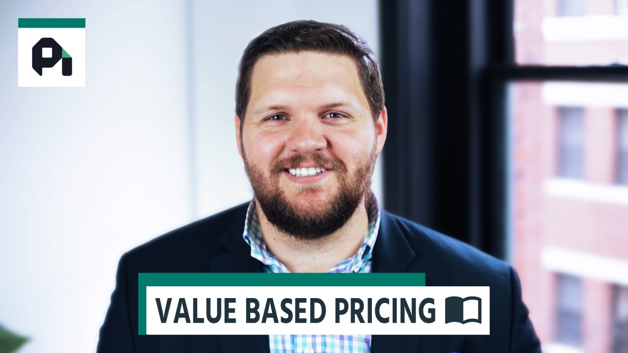 Wistia video thumbnail - Why Value Based Pricing Is The Best Pricing Strategy