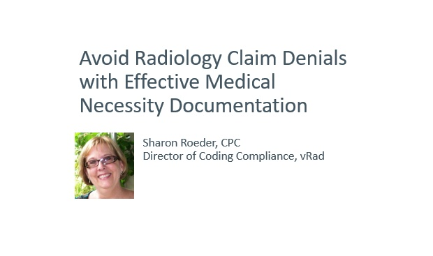 Avoid Radiology Claim Denials with Effective Medical Necessity  Documentation_Recording v2
