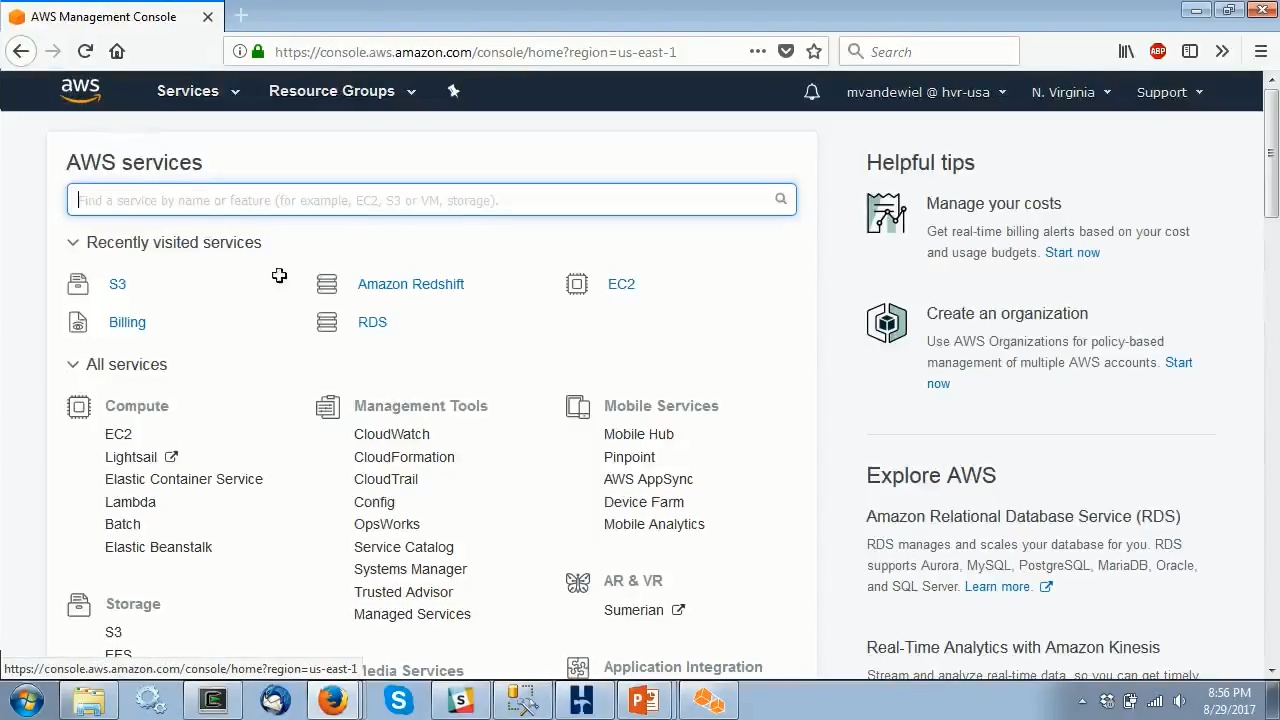 HVR in AWS Marketplace