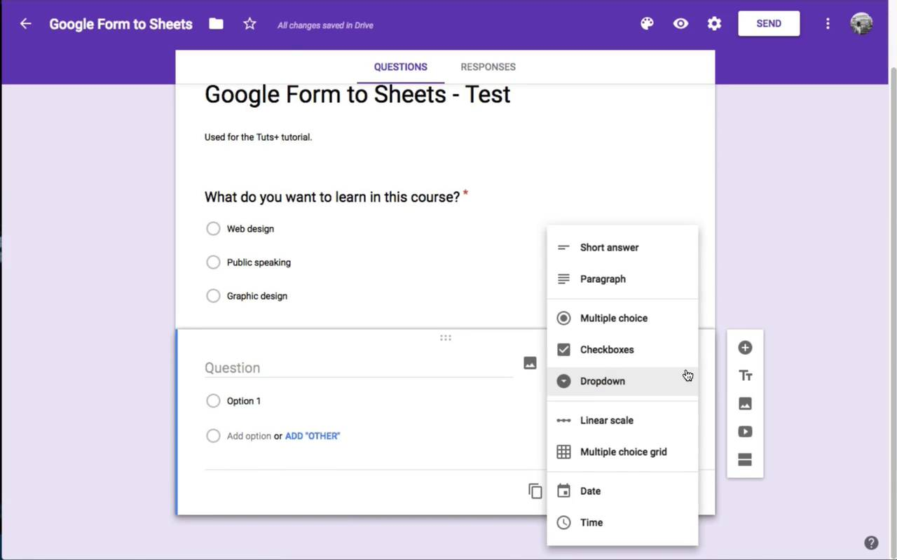 How to create web input forms with google sheets baditri Image collections