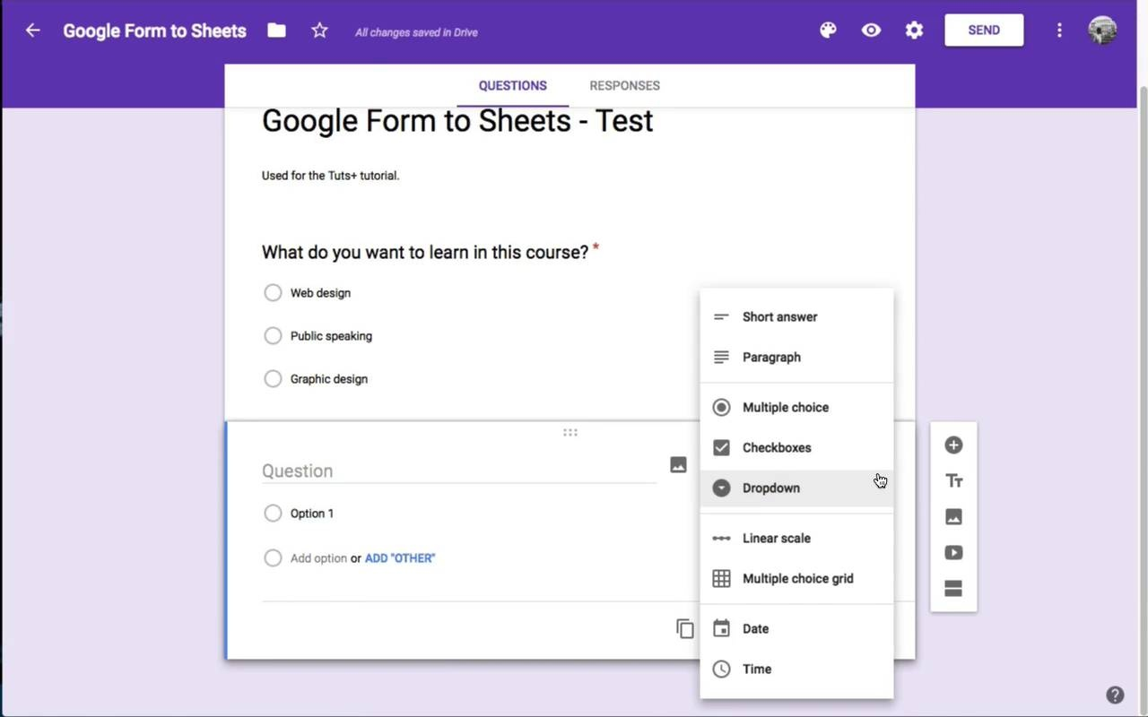 How To Create Web Input Forms With Google Sheets - Create checklist in google docs