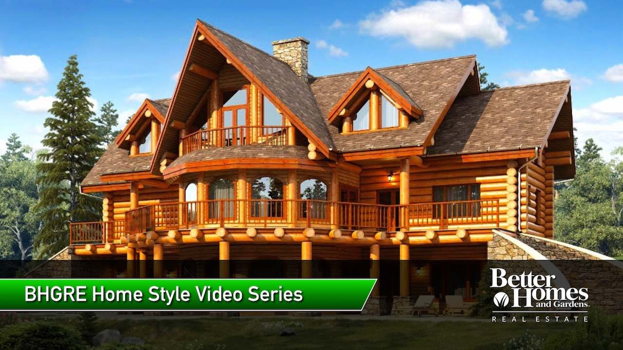 Cabin Style Home | Cabin Style Home Construction Design Houses For Sale