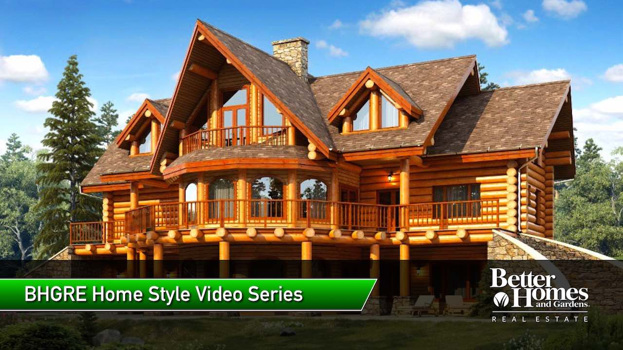 Cabin Style Homes Design Inspirations