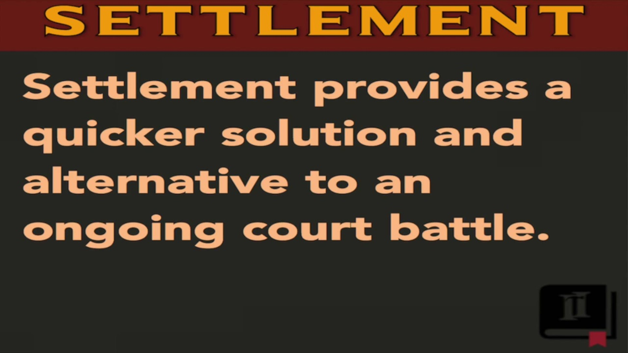 Settlement Definition Legal Meaning Lawyer Terms Simplified