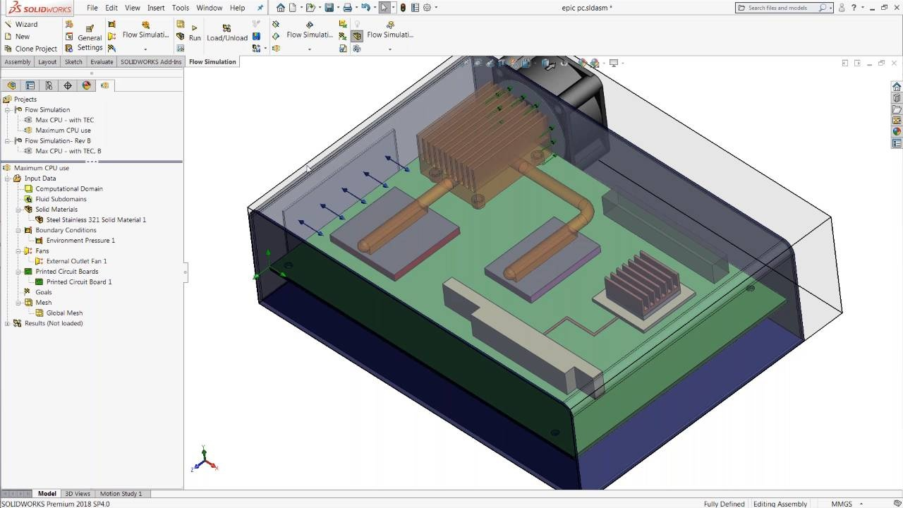 Go From Datasheets To Results With Solidworks Flow Simulation Circuit Wizard Is A Easy Program Draw Your Electronic Circuits On Video Thumbnail