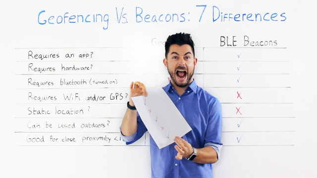 Wistia video thumbnail - Episode 41 | Geofencing Vs. Beacons: What's the difference?