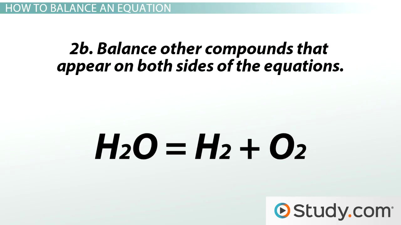 Chemical Reactions and Balancing Chemical Equations Video – Writing Chemical Equations Worksheet
