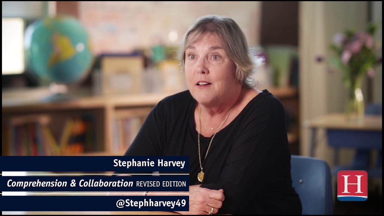 Wistia video thumbnail - Stephanie Harvey: Small-group work_No longer optional
