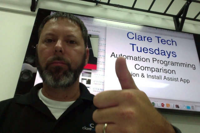 Clare Tech Tuesday: Automation Programming Comparison Fusion & Install Assist