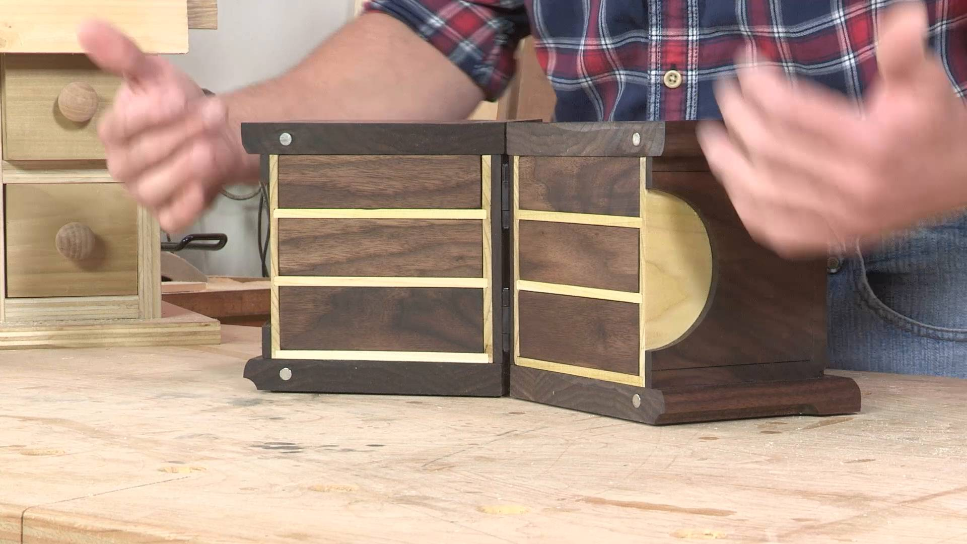 I Can Do That Asian Jewelry Box Popular Woodworking Videos