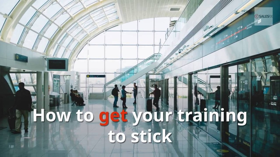 Wistia video thumbnail - How To Get Your Training To Stick