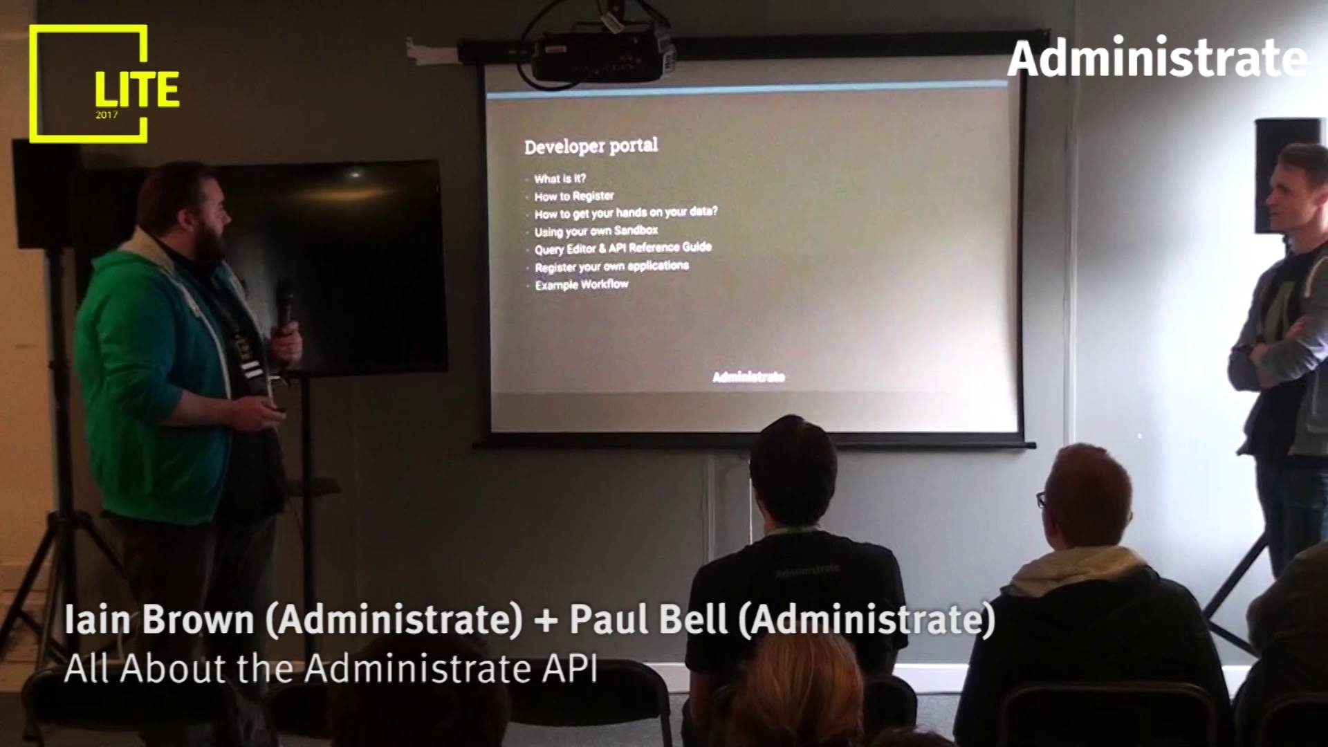 All About the Administrate API [Iain Brown & Paul Bell]