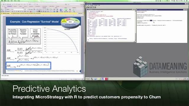How to Integrate MicroStrategy with R Predictive Analytics