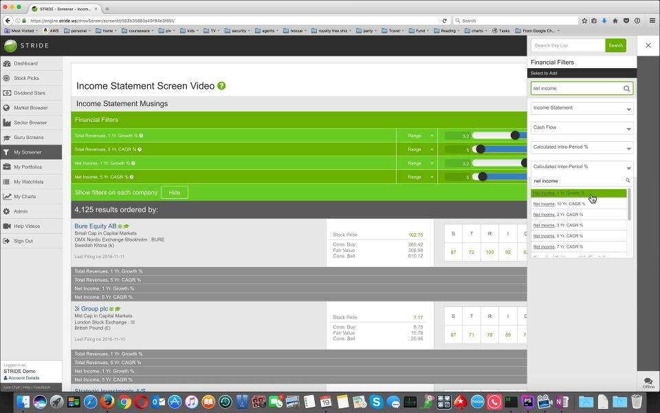 Wistia video thumbnail - Income Statement Screen