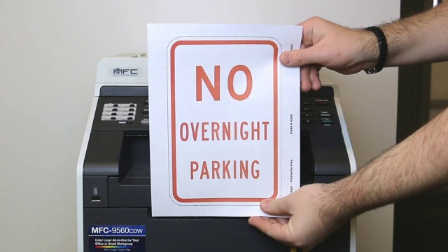 Free Parking Signs | Professional No Parking Sign PDF's