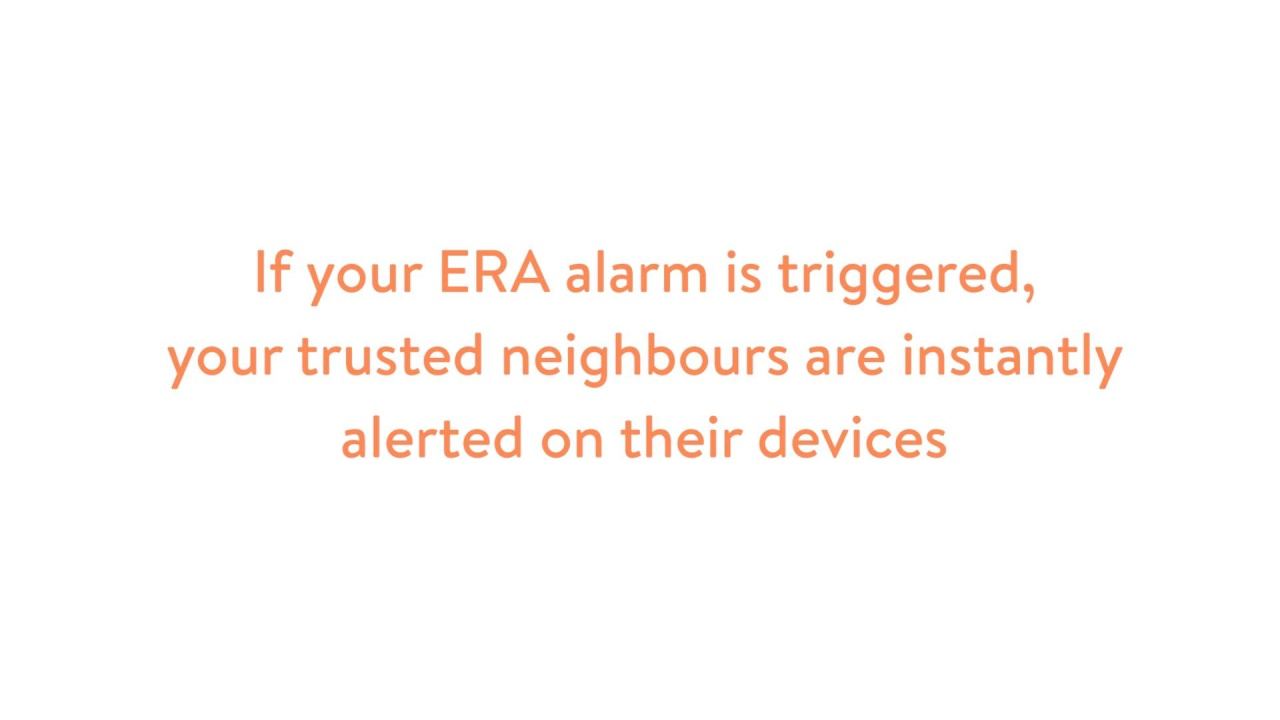 Safeland Connected Homes Community Security Advice Era Uk A One Time Only Burglar Alarm Tap For Sound