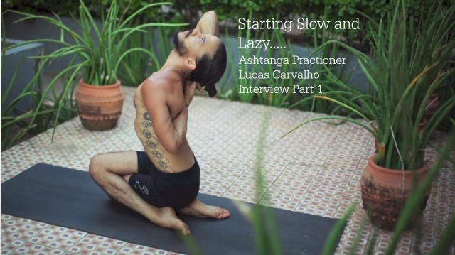 Starting Slow and Lazy - Lucas Carvalho Interview Part 1