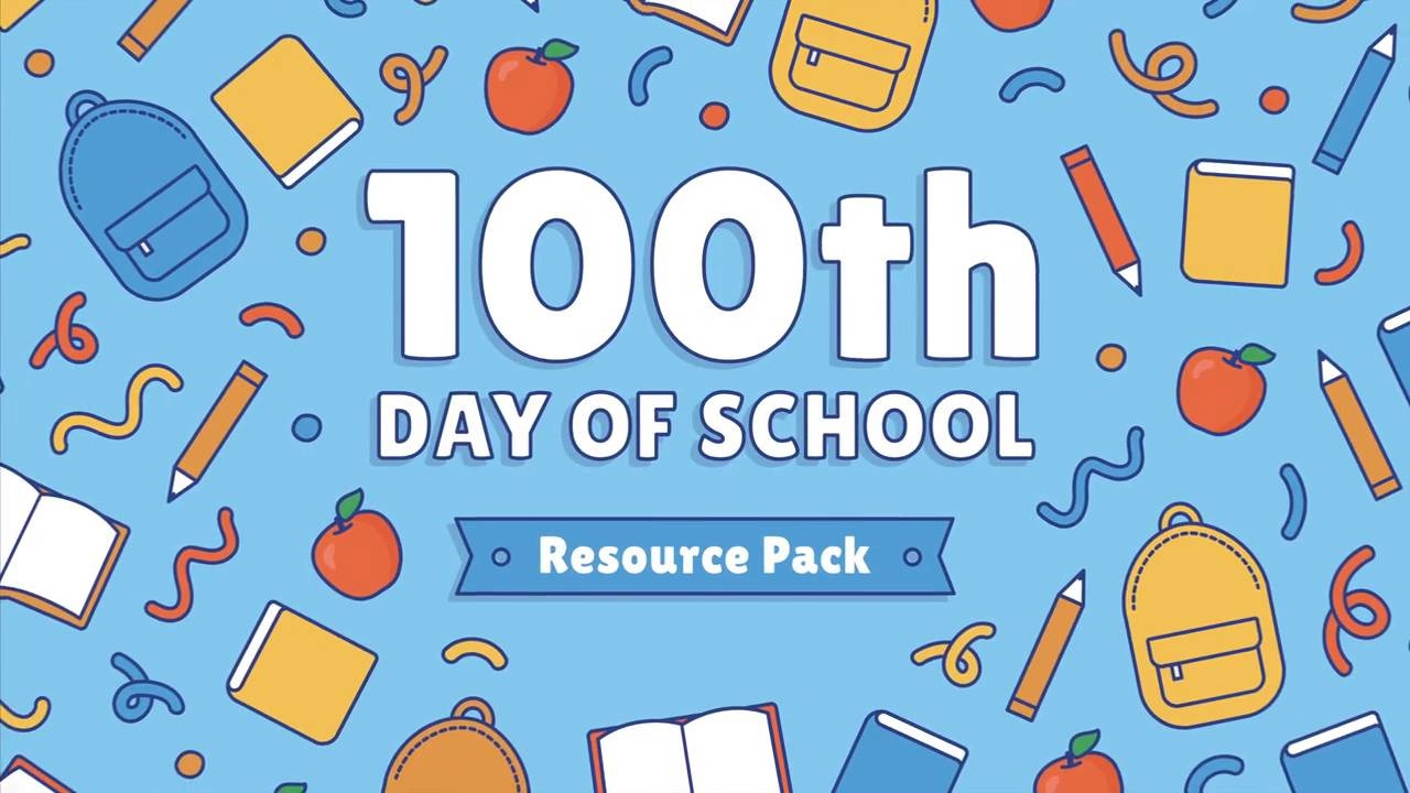 The Cutest Printable And Activities To Celebrate 100 Days Of School