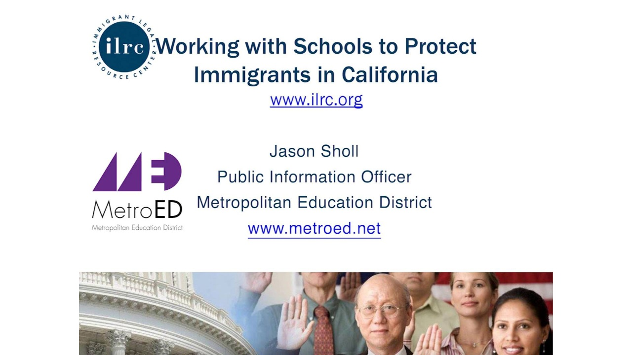 Wistia video thumbnail - Know Your Rights: Protecting Our Immigrant Students and Families