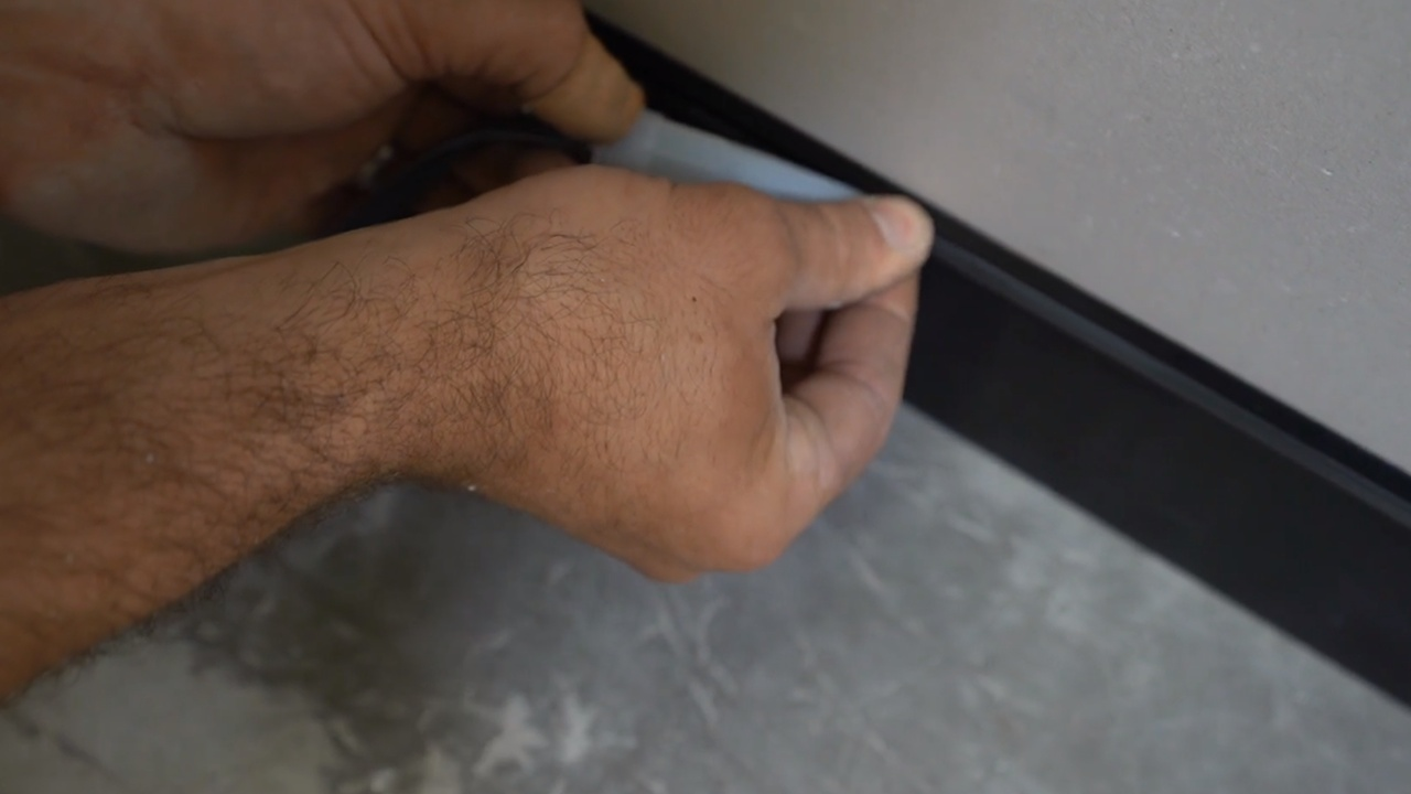 Concealed Fix Skirting Installation Video