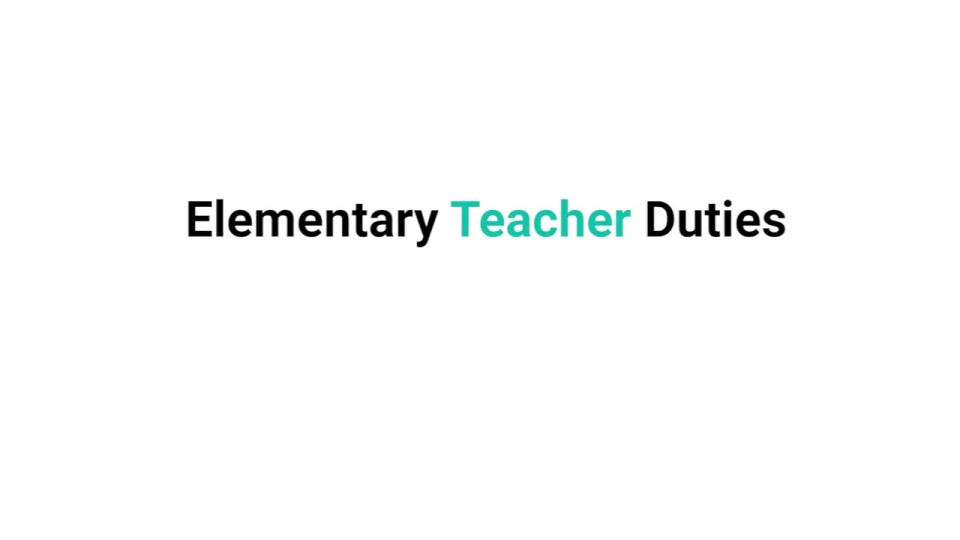 Learn What Elementary Teachers Do On The Job All Education Schools