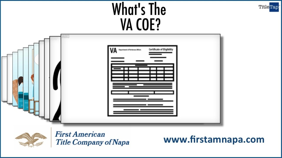 What Is A Certificate Of Eligibility Or Coe Napa Ca Title