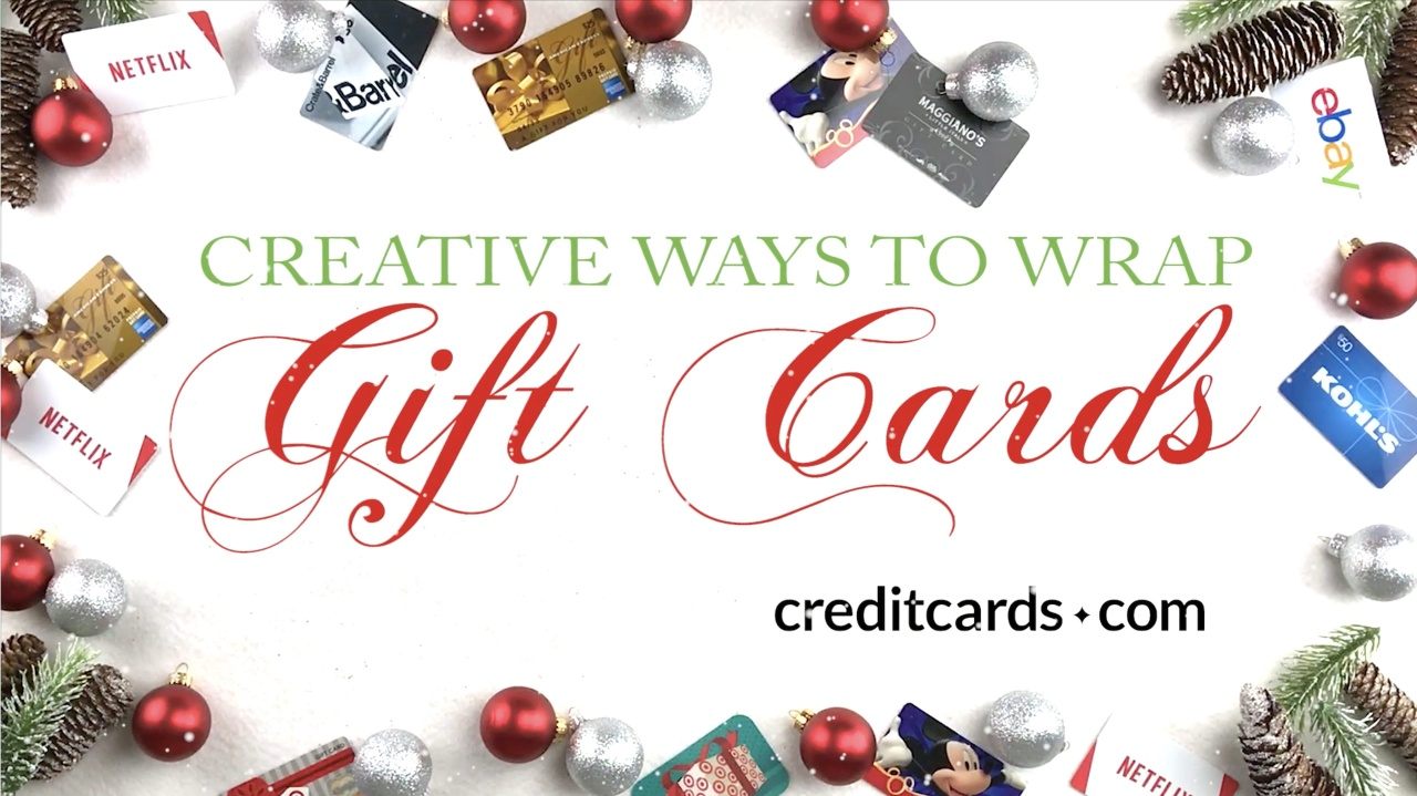 Top 10 Creative Ways To Wrap Gift Cards Creditcards Com