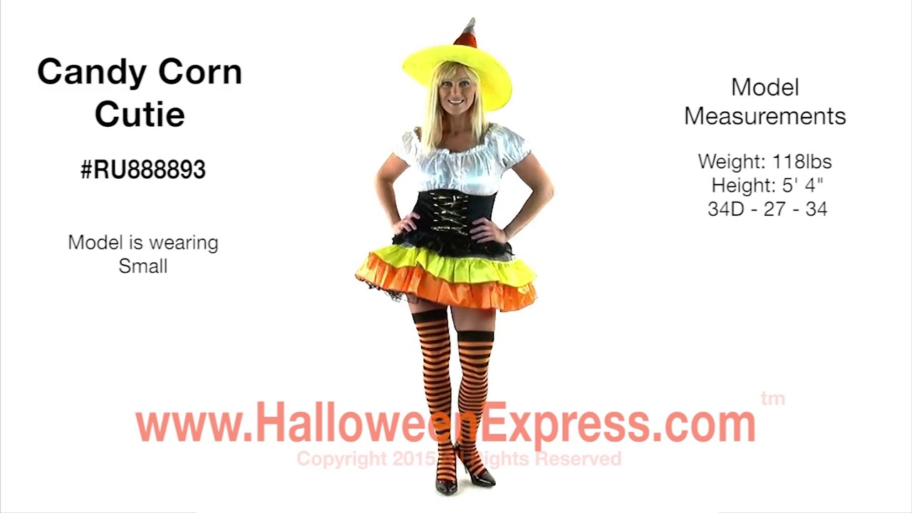 sc 1 st  Halloween Express & Womenu0027s Candy Corn Costume RU888893 - Halloween Express