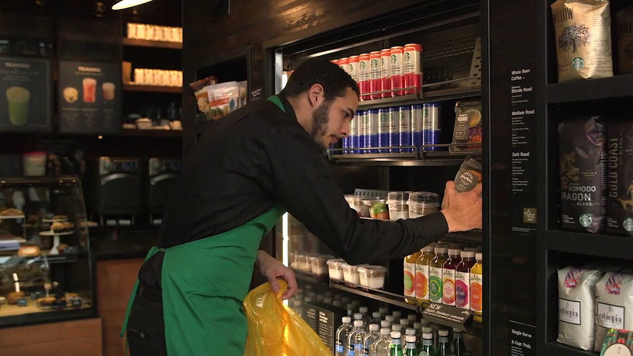 starbucks announces new food donation program starbucks newsroom