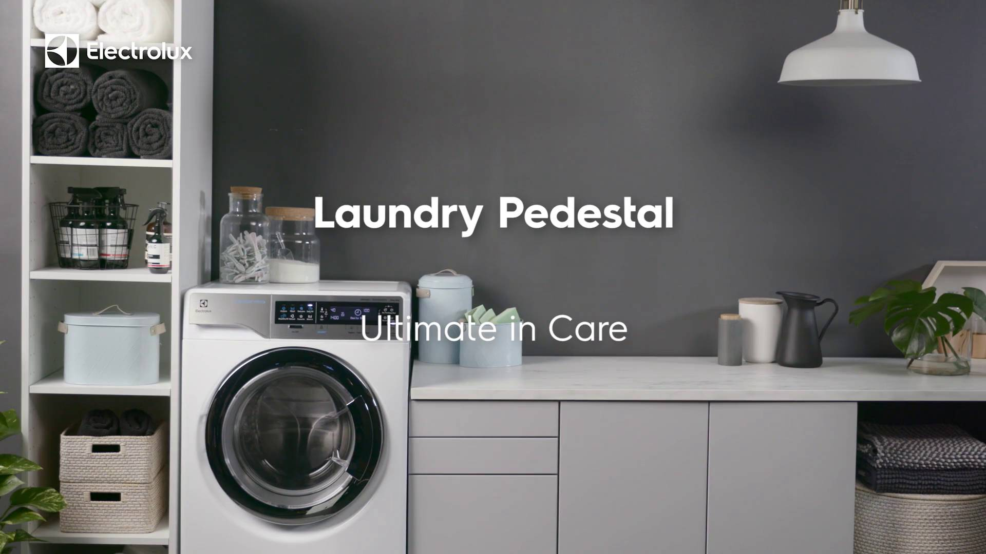 appliances open electrolux touch pedestal glide featuring dryers zm qv luxury drawers drawer washers