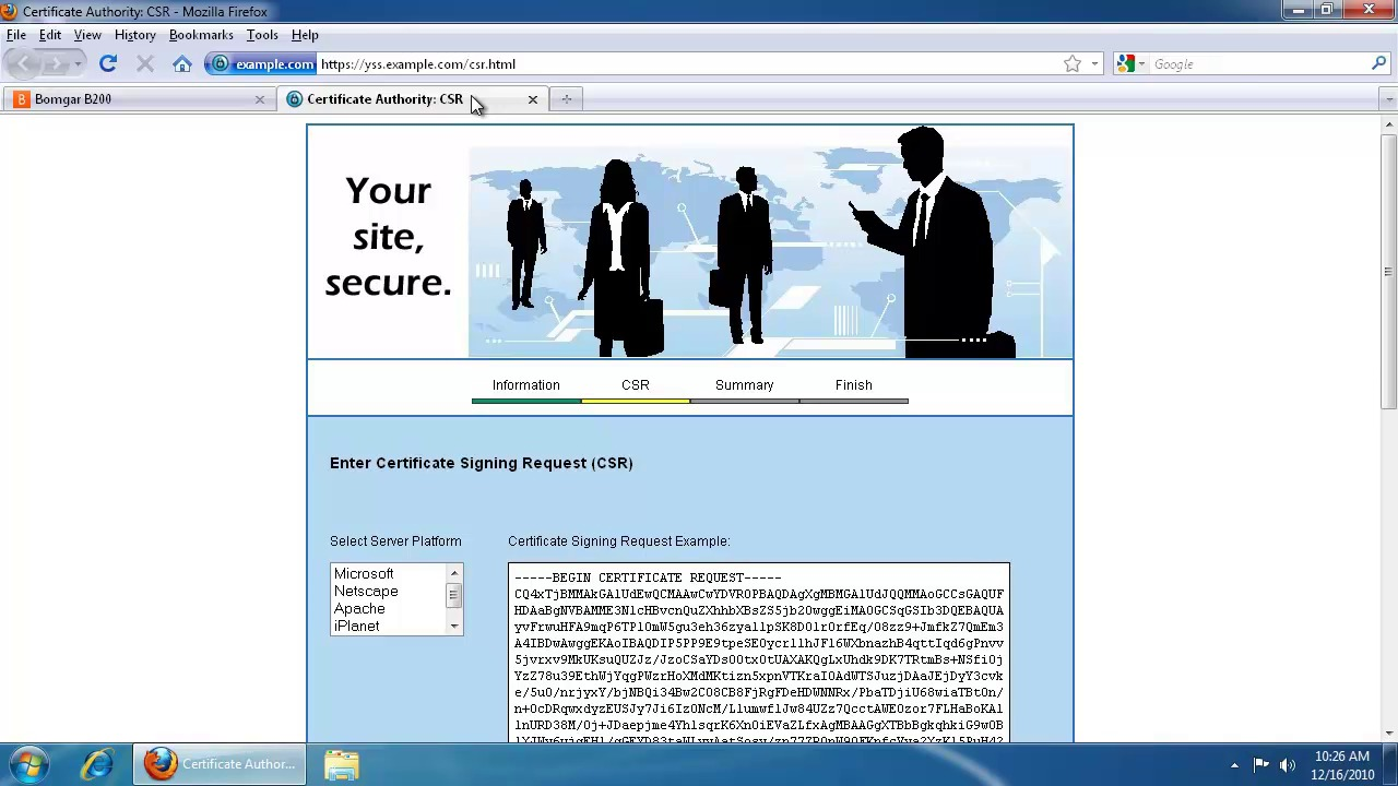 Ssl certificate request and setup prior to base 332 1betcityfo Choice Image